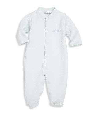 Baby's ABC Blocks Jacquard Footie