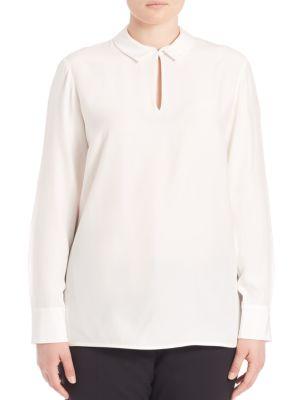 Shay Silk Blouse plus size,  plus size fashion plus size appare