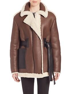 shearling coats from canada -
