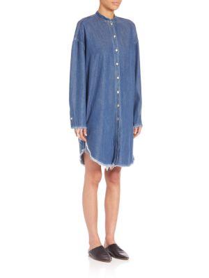 Denim Shirtdress