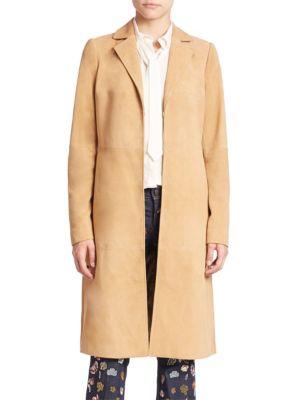 Logan Suede Coat