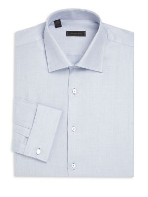 Woven Button-Down Dress Shirt