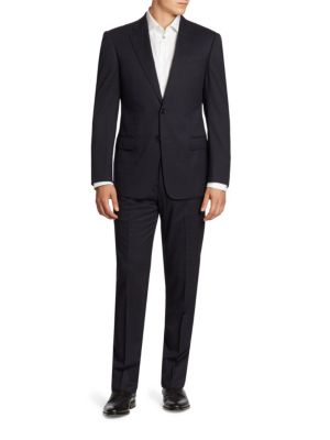 Two-Button Virgin Wool Suit