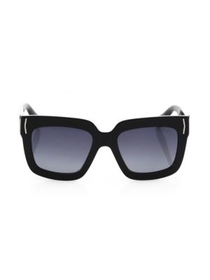 53MM Oversized Square Sunglasses
