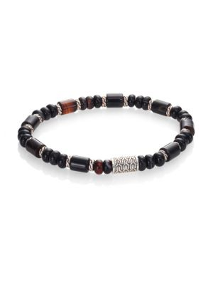 Bead Banded Agate Bracelet