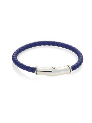 Bamboo Collection Leather Bracelet