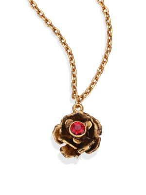 Small Flower Pendant Necklace