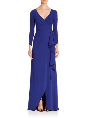 Lattice Long Sleeve Ruched Dress