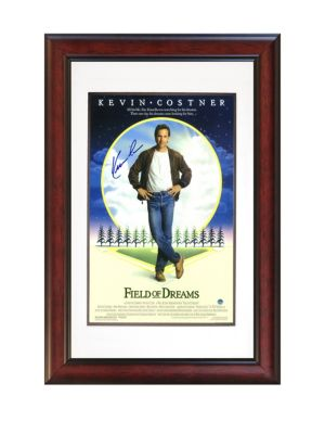 Kevin Costner Autographed Field Of Dreams Movie Poster
