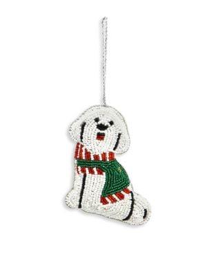 Beaded Dog Ornament