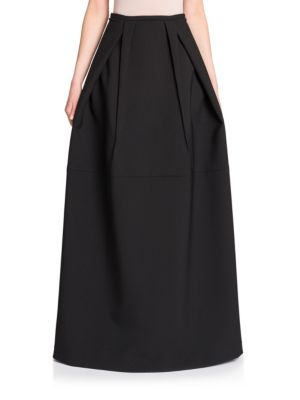 Pleat Detail Ball Skirt