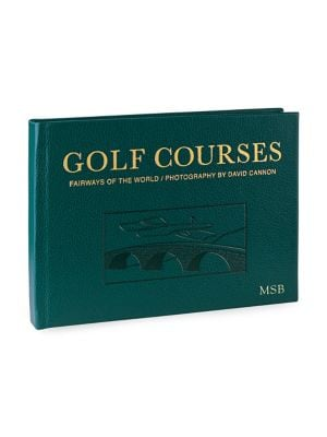 Personalized Golf Course Book 0400090436071