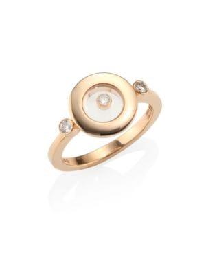 Happy 18K Yellow Gold & Diamond Ring