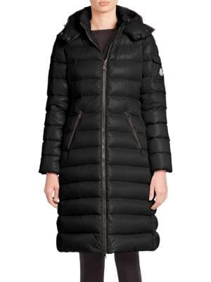 Moka Matte Hooded Puffer Coat