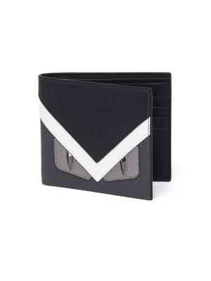 Monster Calf Leather Bi-Fold Wallet