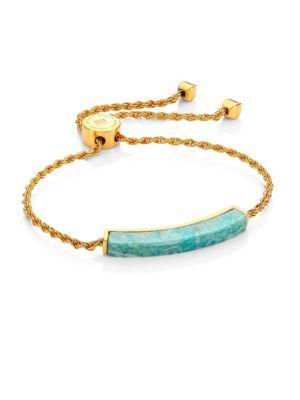GP Linear Amazonite Slider Bracelet
