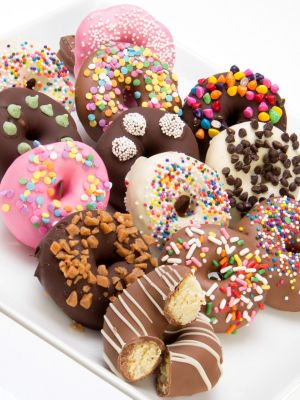 Chocolate Covered Mini Donuts