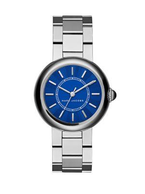 marc jacobs female 258382 courtney stainless steel bracelet watch