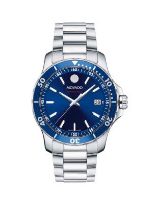 800 Series Stainless Steel & Aluminum Bracelet Watch