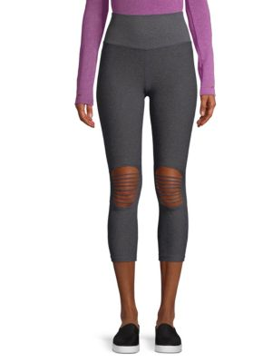 St Nicholas Ave Two-Tone Leggings