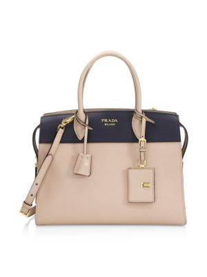 Medium Esplanade Leather Satchel