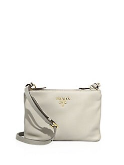 prada white purse