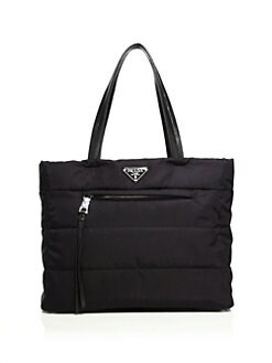 prada tessuto city medium tote
