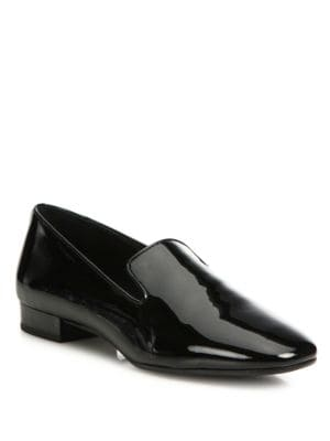 michael kors female 188971 roxanne patent leather loafers