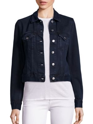 Denim Button-Down Jacket