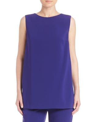 Solid Back Paneled Top by Escada