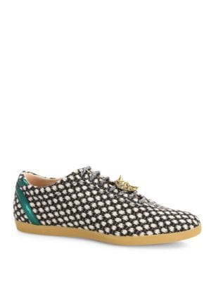 Bambi Polka Slip-On Sneakers