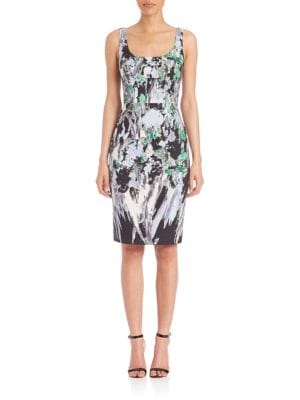 Rochie midi MILLY Floral