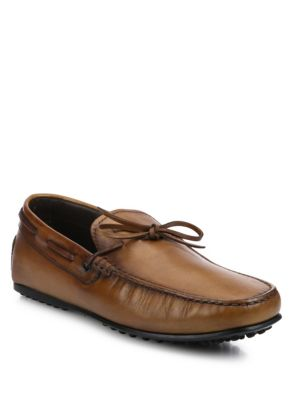 Burnished Leather City Driver Moccasins