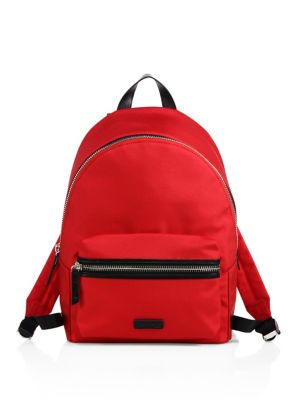 Paul Nylon & Leather Backpack