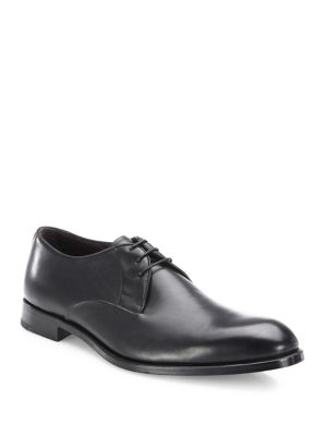 Ave Flex Leather Lace-Up Dress Shoes