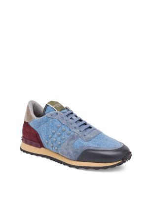 Denim Rock Runner Sneakers