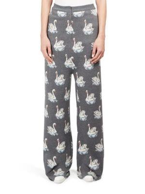 Pantaloni de damă STELLA MCCARTNEY Swan