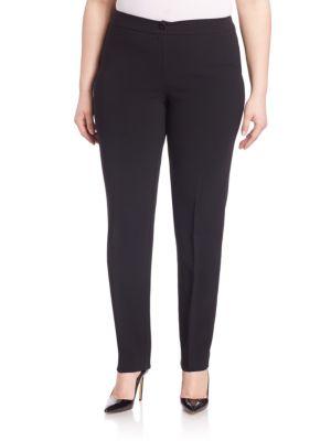 Elegante Straight-Leg Trousers plus size,  plus size fashion plus size appare