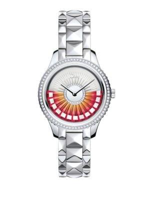 Dior VIII Grand Bal Limited-Edition Diamond & Stainless Steel Bracelet Watch