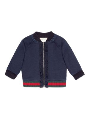 Baby's Denim Bomber Jacket