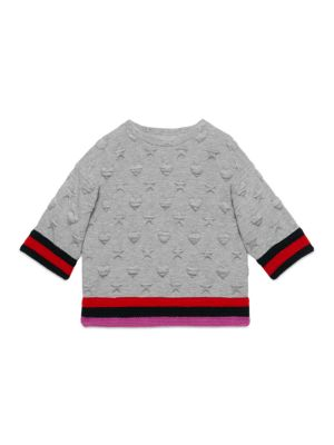 gucci girls little girls girls cotton sweatshirt