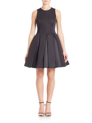 Structured Fit & Flare Dress