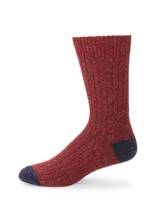 BARBOUR Houghton Dual-Toned Socks