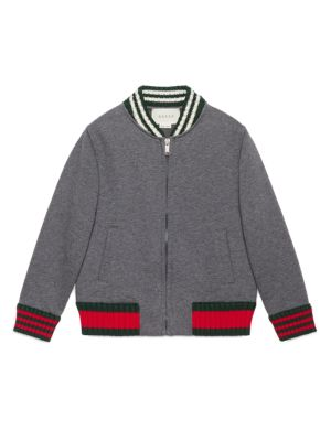 gucci boys little boys boys cotton long sleeve jacket