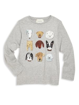 gucci boys little boys boys dog graphic tee