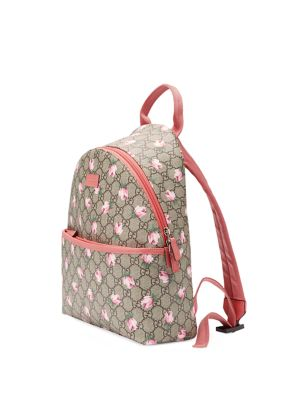 gucci girls 250960 girls gg flowers backpack