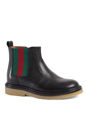 gucci baby babys toddlers leather boots