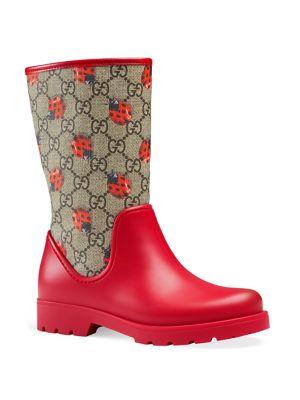 gucci kids rain boots