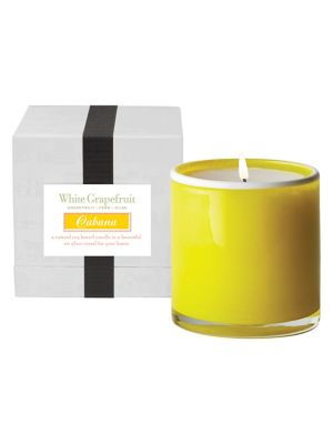 House and Home White Grapefruit Scented Candle
