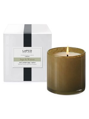 House and Home Sage and Walnut Scented Candle